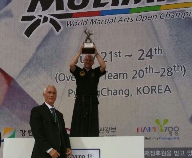 Markus Bertelli ist Weltmeister im Haidong Gumdo